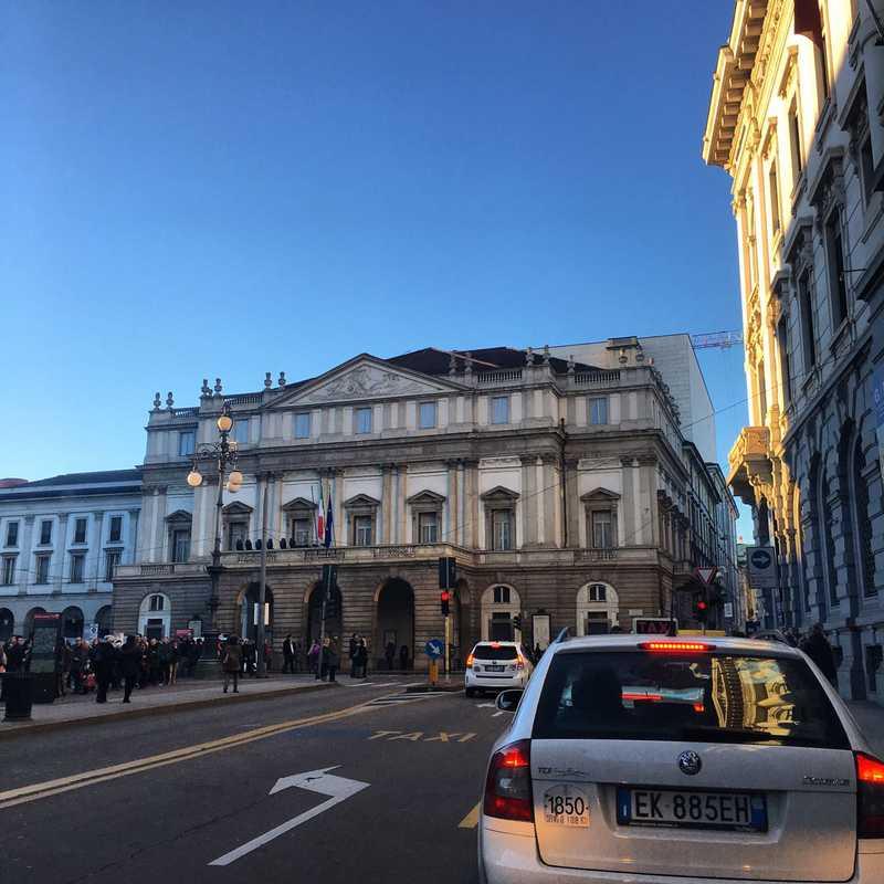 Place / Tourist Attraction: La Scala (Milan, Italy)