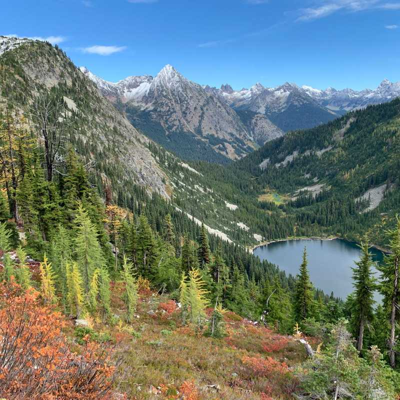 Maple Pass Trailhead