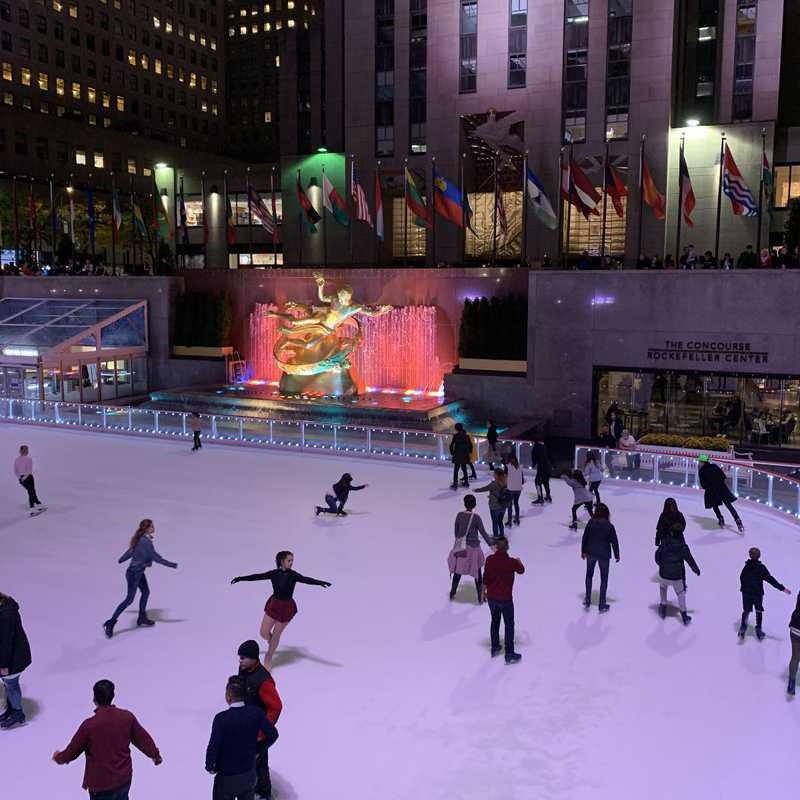 Rockefeller Plaza Ice Ring