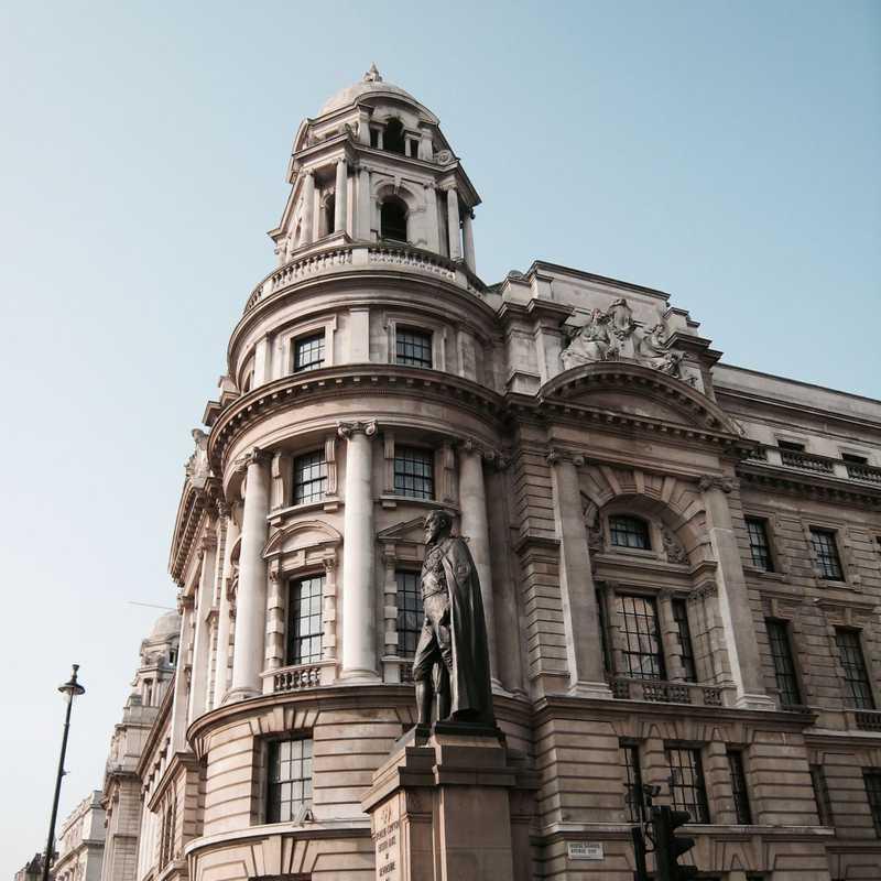 Statue of the Duke of Devonshire, Whitehall
