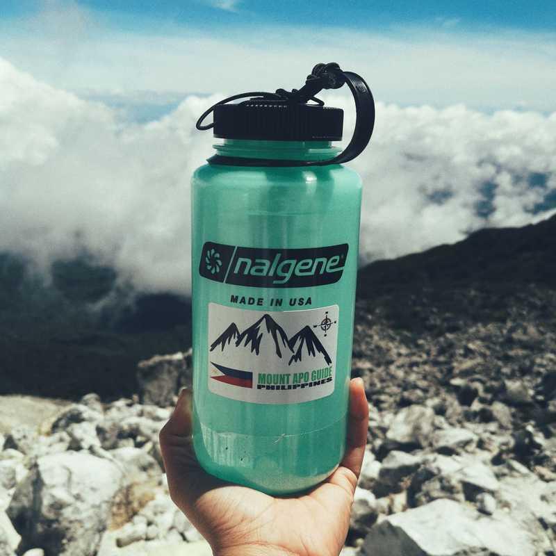 Mount Apo White Boulders