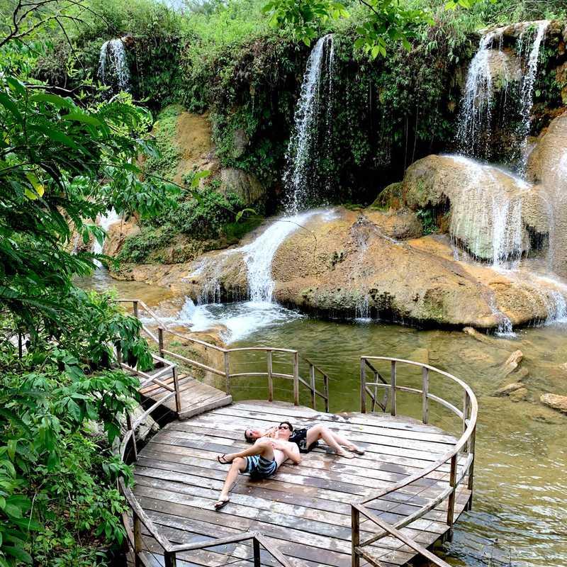 Parque das cachoeiras