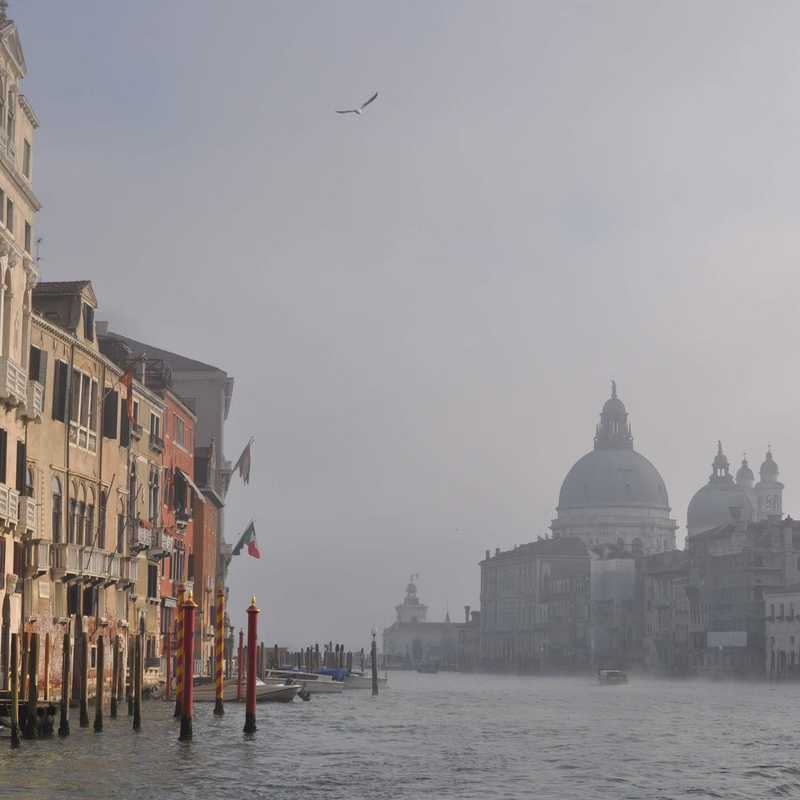 Place / Tourist Attraction: Ponte dell'Accademia (Venice, Italy)
