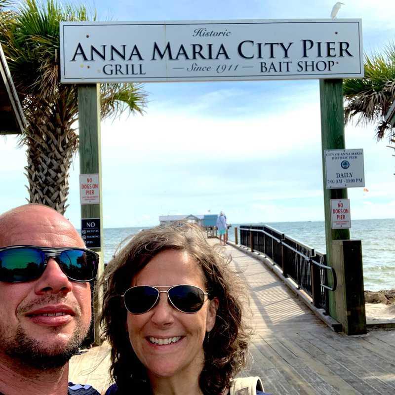 Anna Maria City Pier Landmark