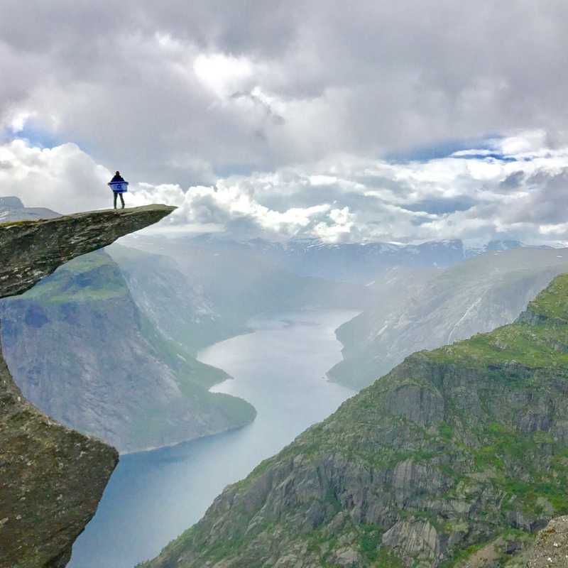 The trail to Trolltunga ,Norway. | 2 days trip itinerary, map & gallery