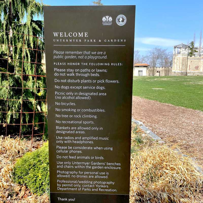 Untermyer Park and Gardens
