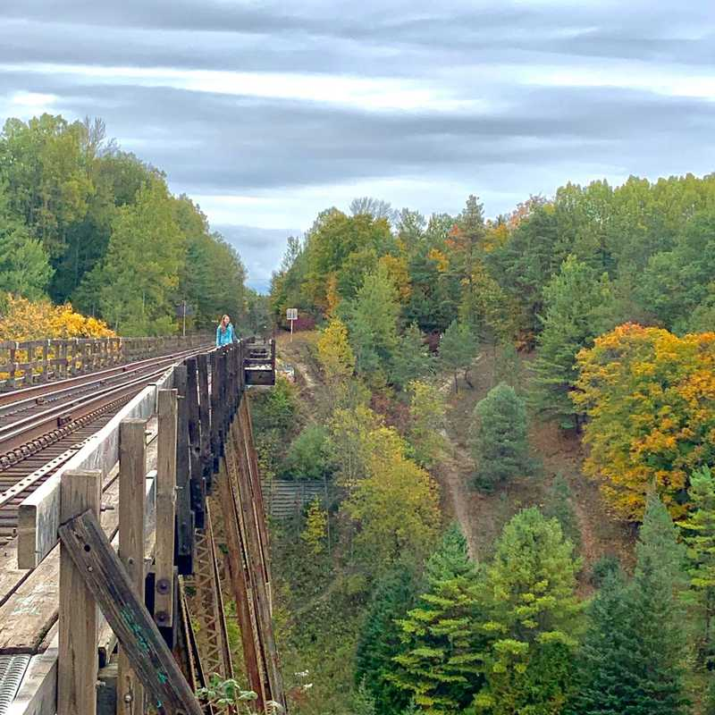 Trip Blog Post by @egoodwin: Springwater & Barrie 2020 | 2 days in Oct (itinerary, map & gallery)