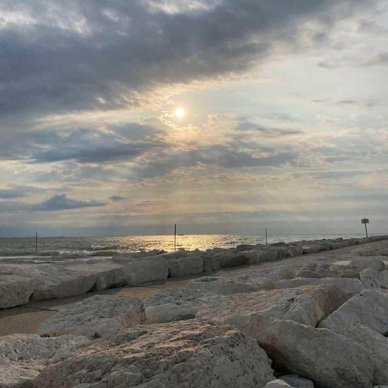 Beach Promenade d'Annunzio