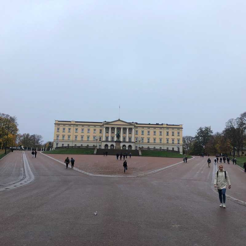 The Royal Palace Oslo
