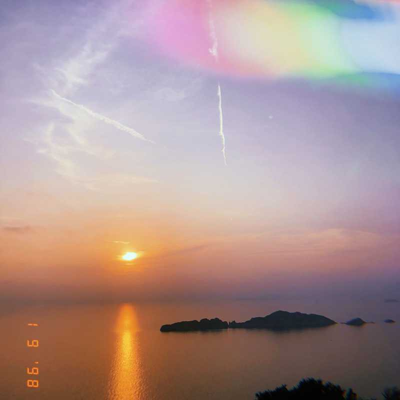 Afionas sunset