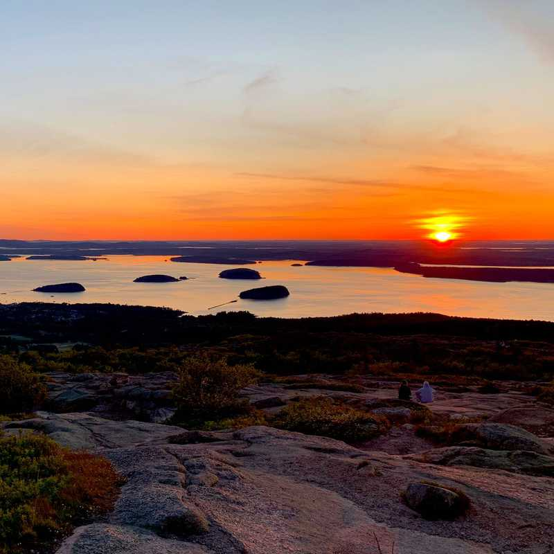 Maine - Cadillac Sunrise & Beehive Trail | 5 days trip itinerary, map & gallery