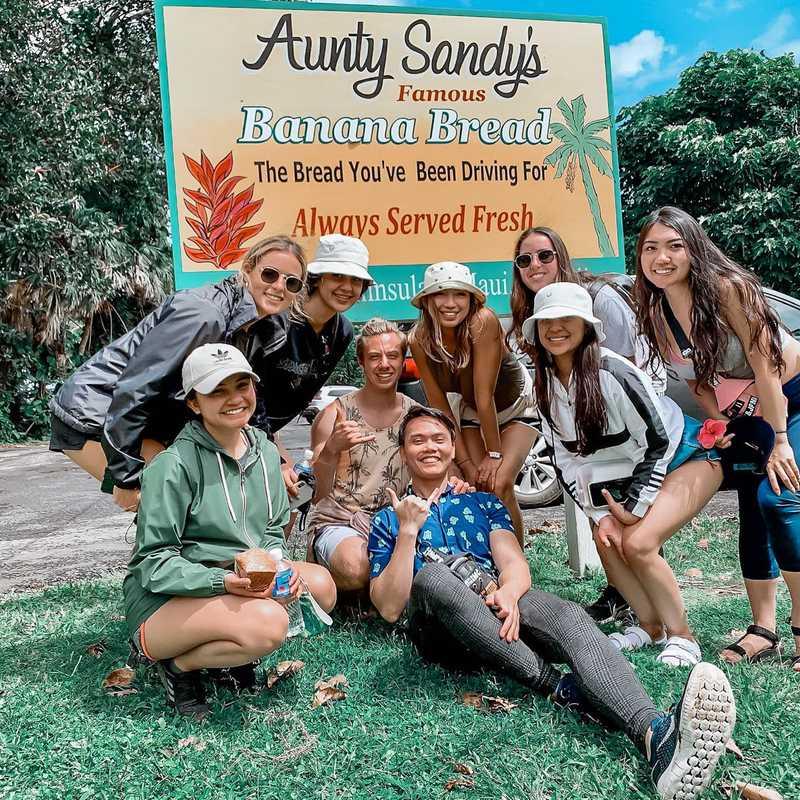 Aunty Sandy's Banana Bread