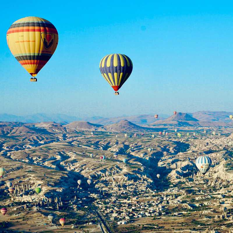 Trip Blog Post by @GlobeTrotter: CAPPADOCIA🇹🇷2018 | 2 days in Aug (itinerary, map & gallery)