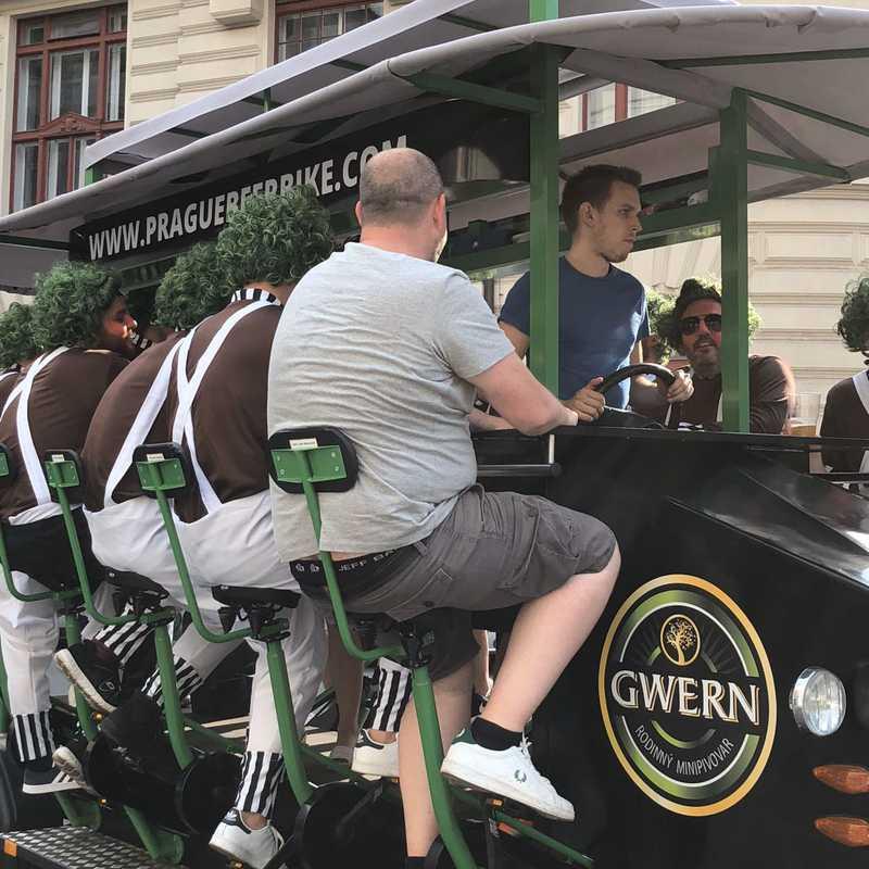 Original Prague Beer Bike