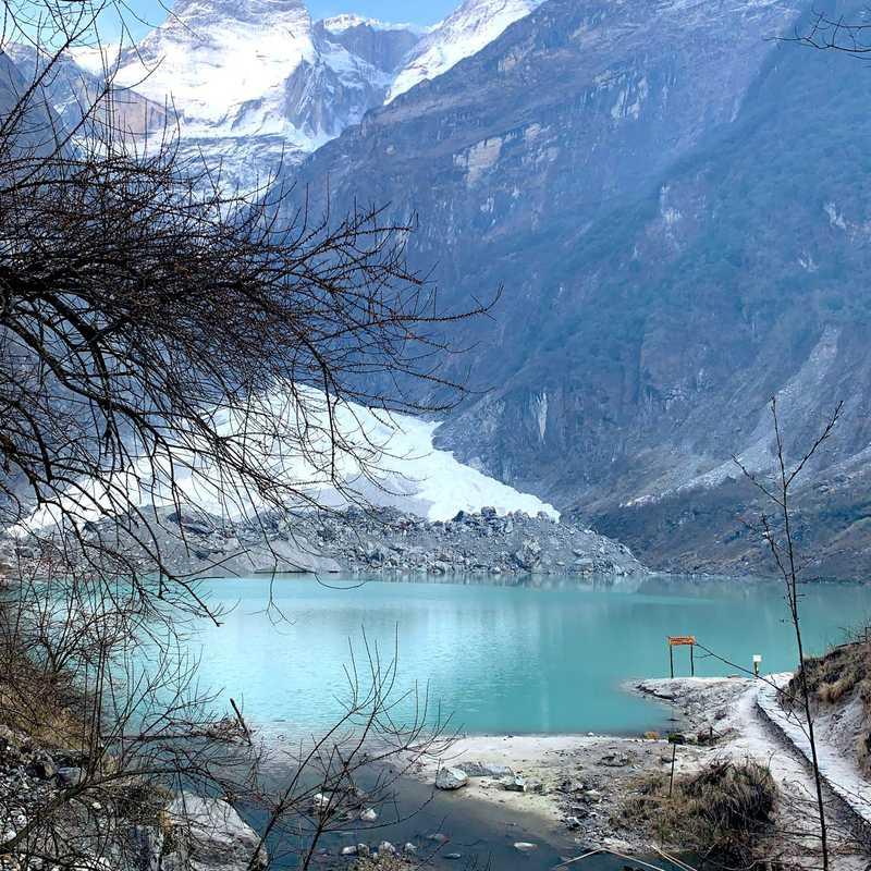 Khapuche Glacier Lake