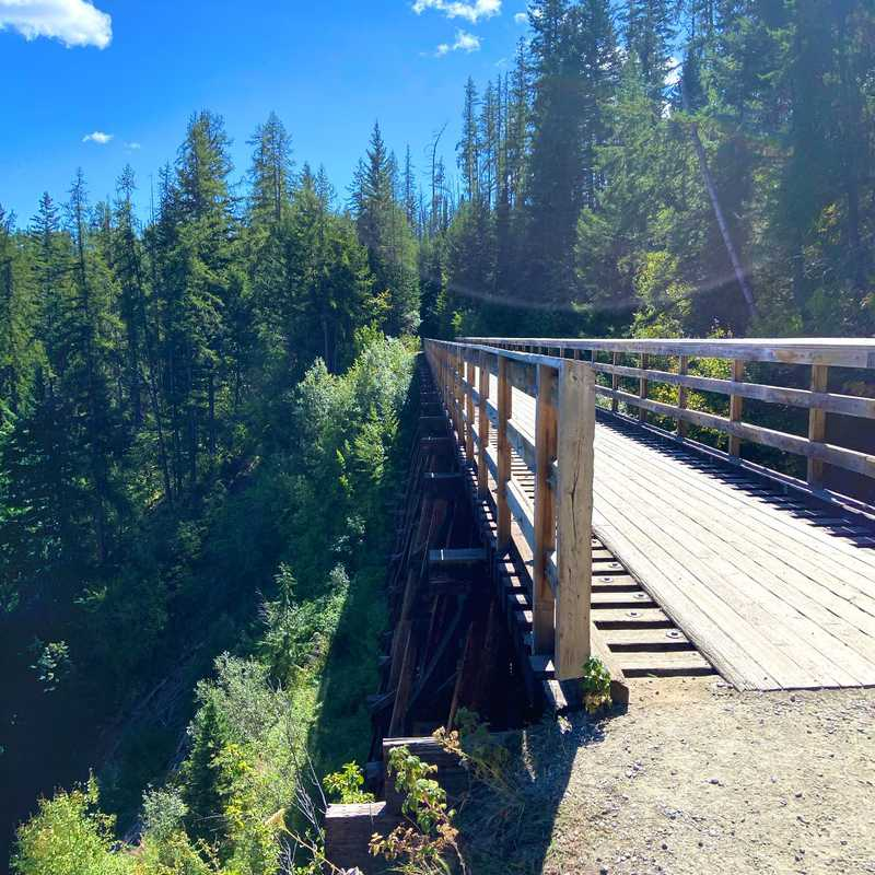 Myra Canyon Trestles (Myra Canyon Trail)