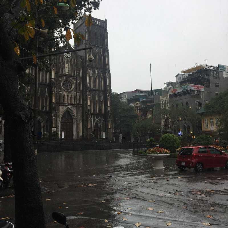 gåtur i regnet