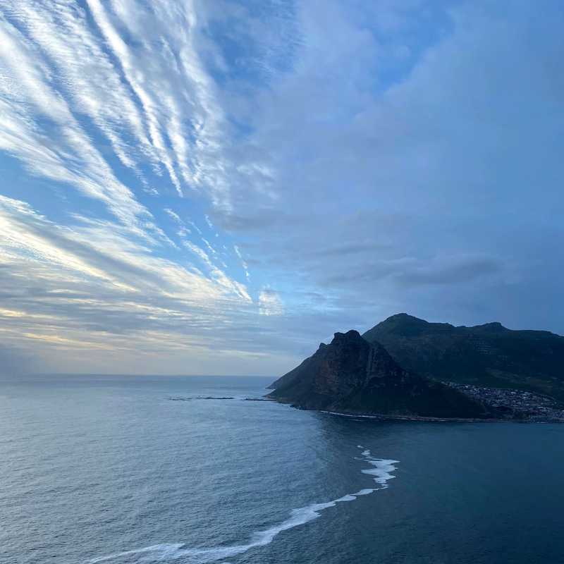 The Lookout Point on Chapmans Peak Cape Town South Africa