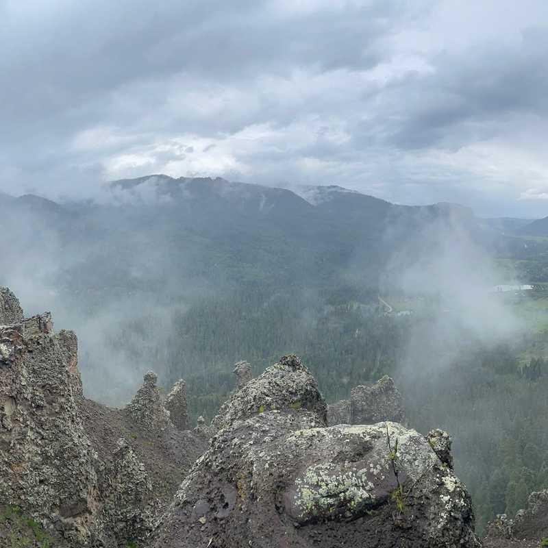 Wolf Creek Pass - Overlook