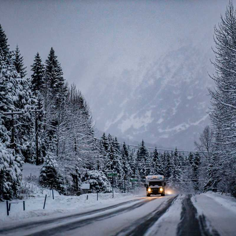 Portage Glacier Road