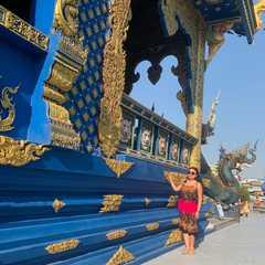 Blue Temple Chiang Rai / Wat Rong Suea Ten (วัดร่องเสือเต้น)