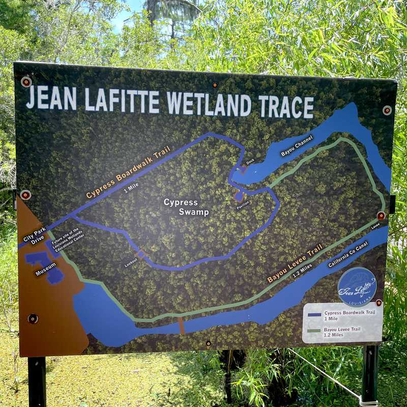 Lafitte's Barataria Museum and Wetland Trace