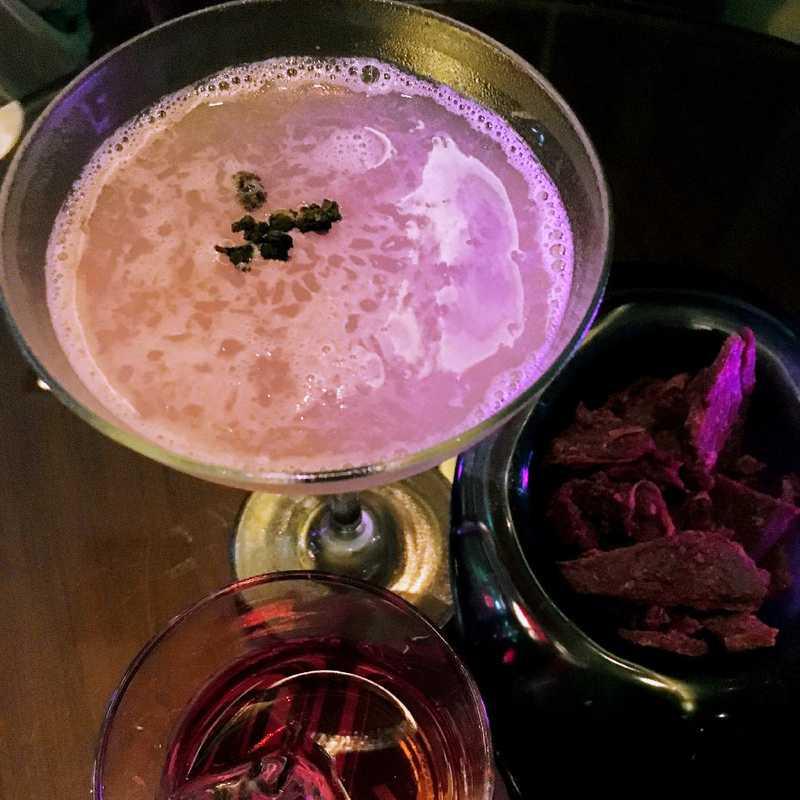 Grab drinks at Yen Bar @ W