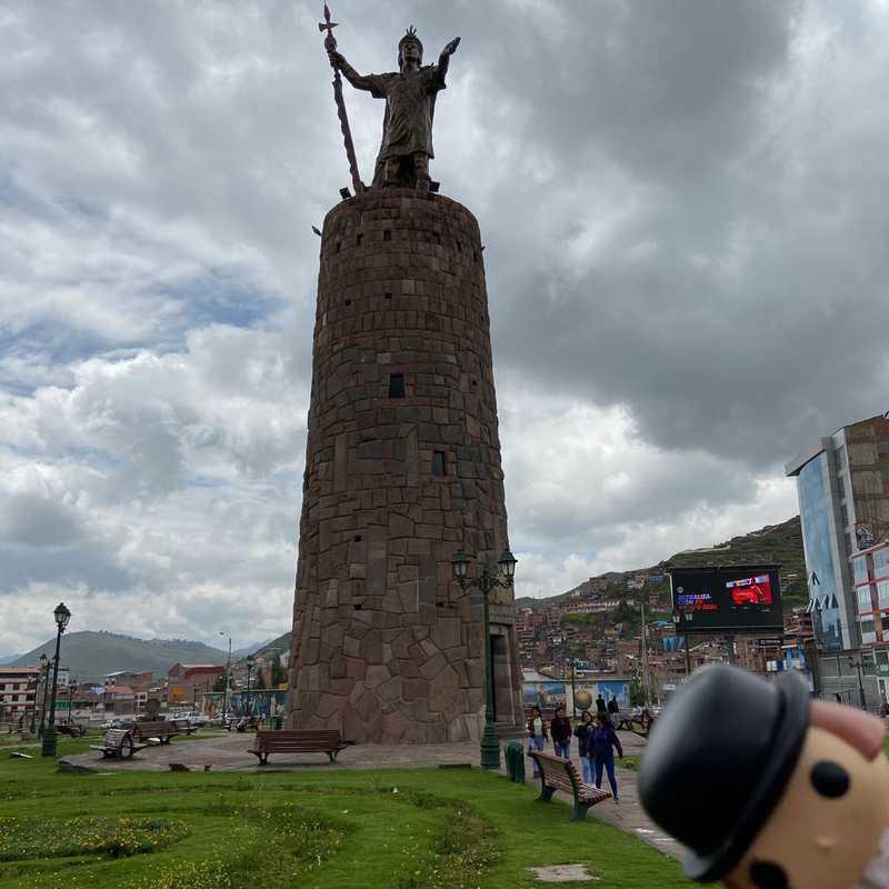 Monumento Inca Pachacutec