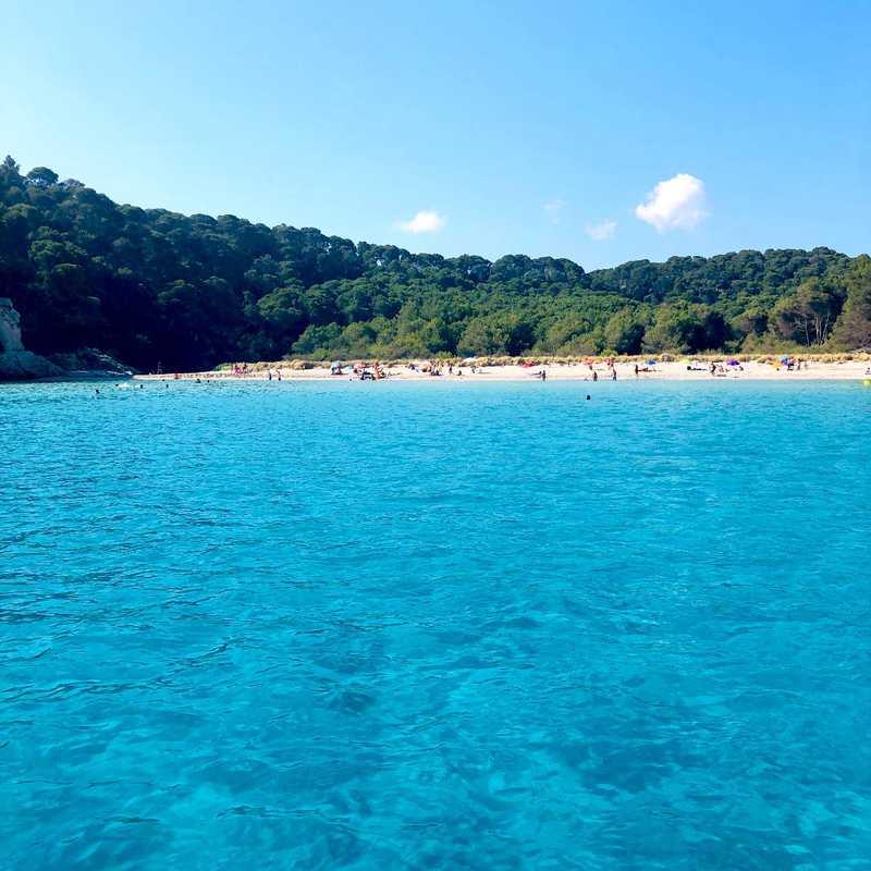 South coast Cala cruise