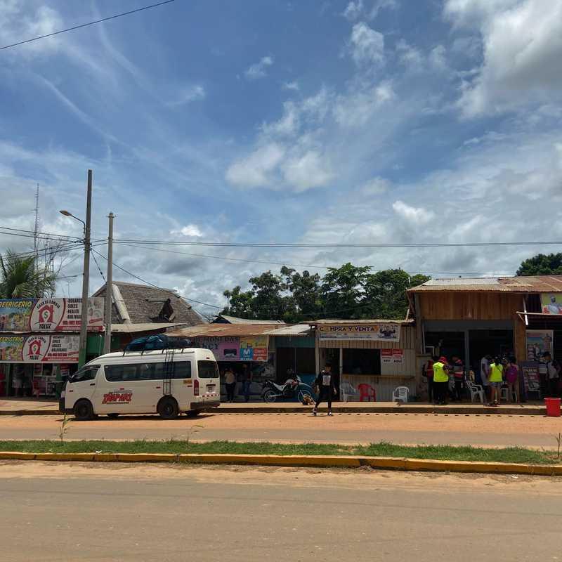 Border checkpoint Iñapari