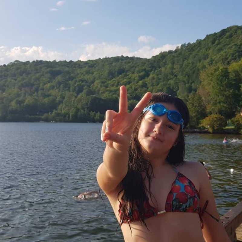 Plage du lac Mercier