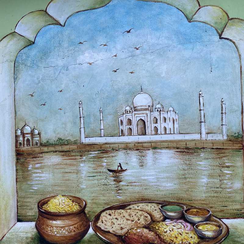 Little India Art Wall