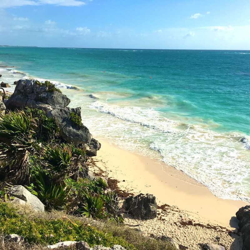 Trip Blog Post by @gonetravel: Mexico Trip - Playa Mujeres & Tulum | 4 days in Feb (itinerary, map & gallery)