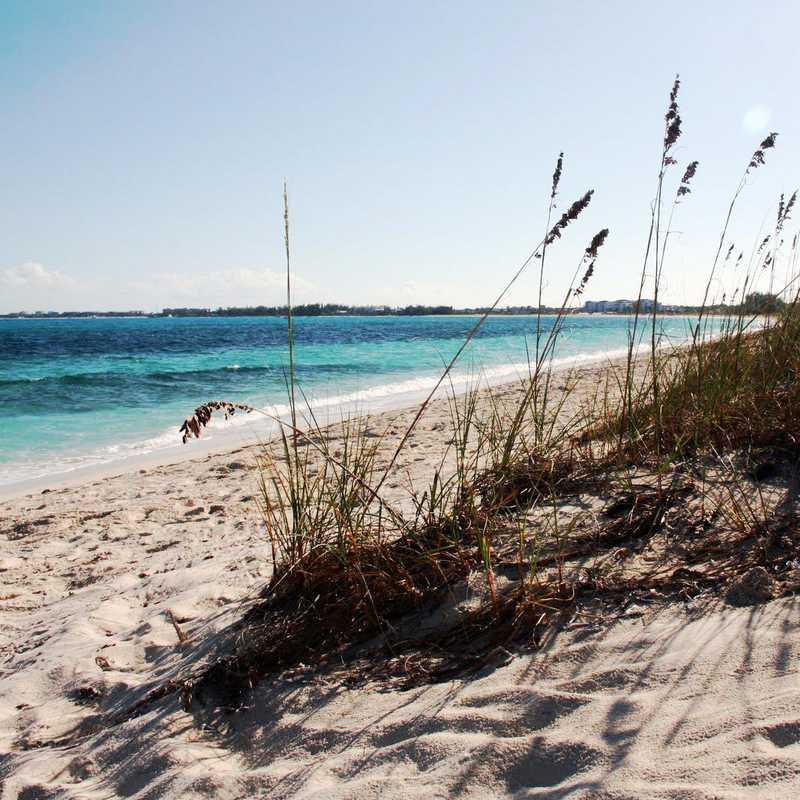 Sunbathe at Babalua Beach
