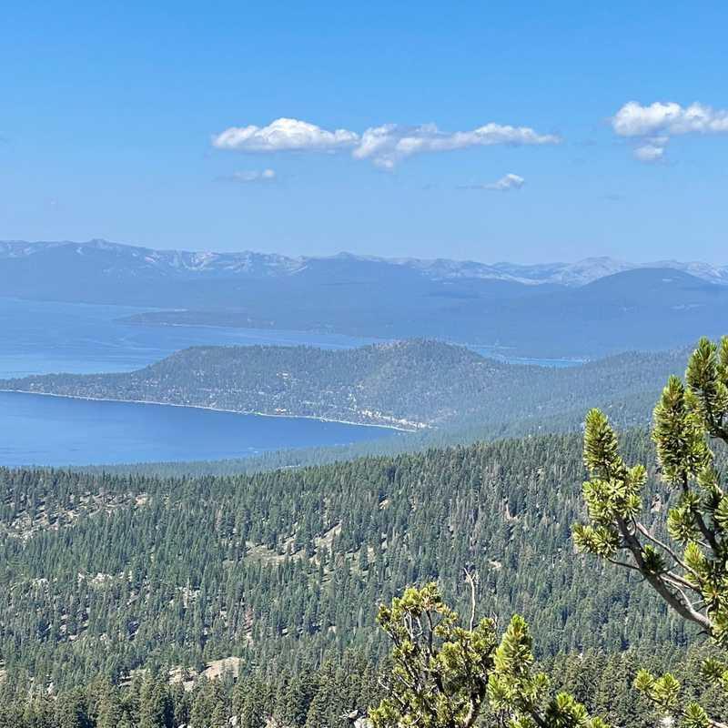 Tahoe Meadows Tahoe Rim Trail Trailhead