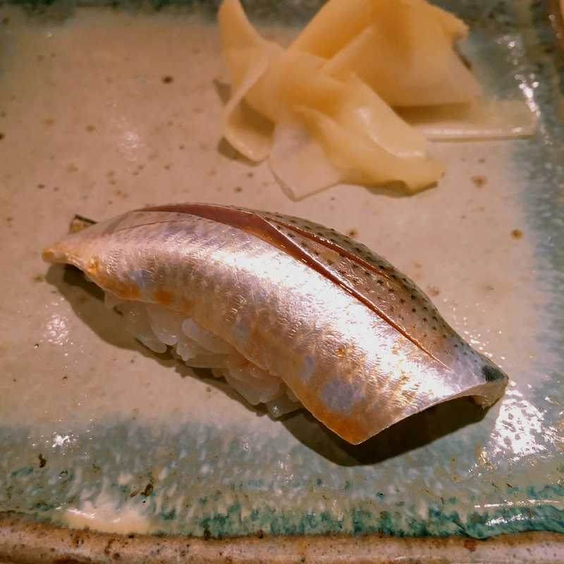Dinner at Sushi Matsue