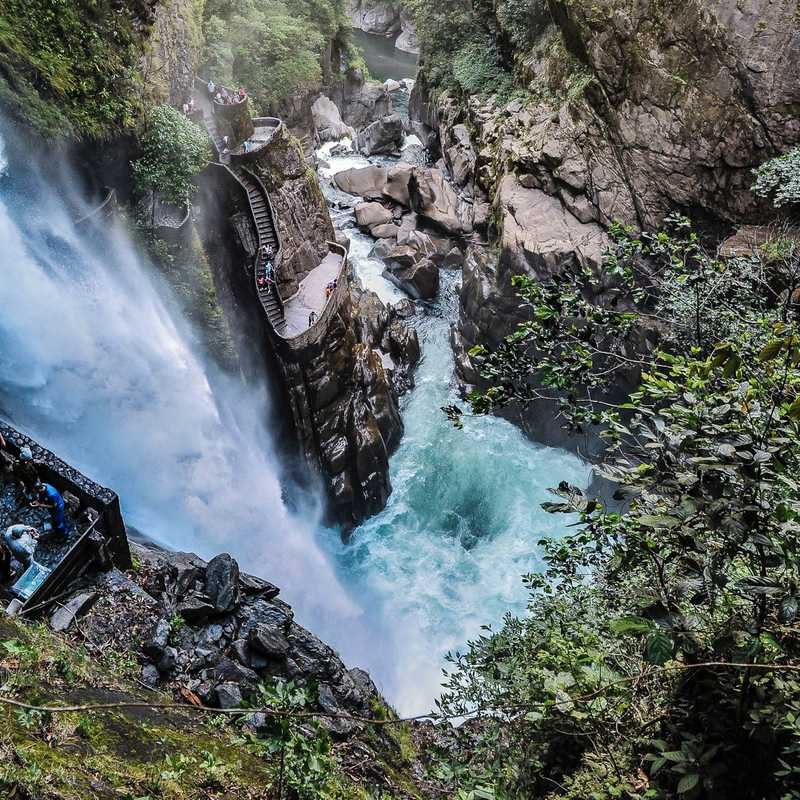 BAÑOS 🇪🇨 | 2 days trip itinerary, map & gallery