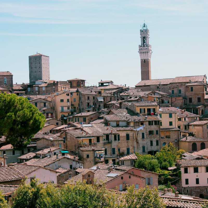Walk around Siena