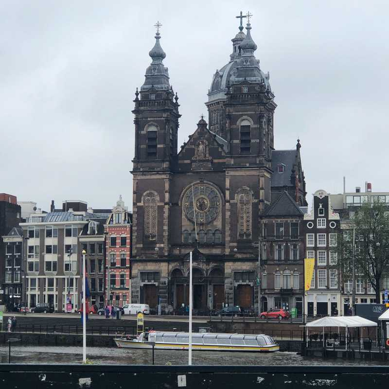 Amsterdam Main Train Station