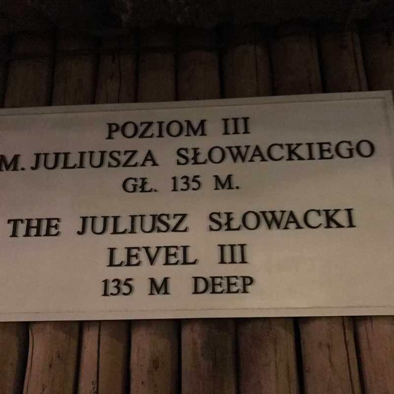 """Salt Mine """"Wieliczka"""" Shaft Regis"""