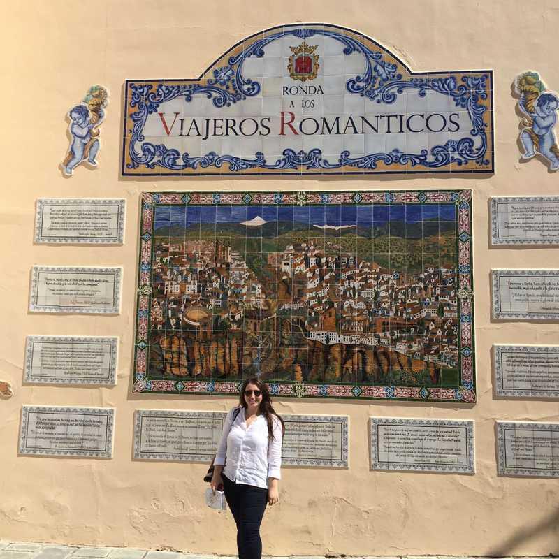 Homenaje de Ronda a los Viajeros Romanticos