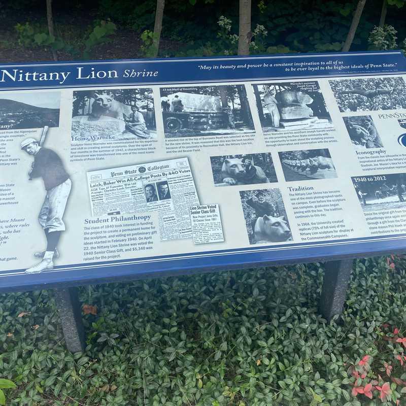 The Nittany Lion Shrine
