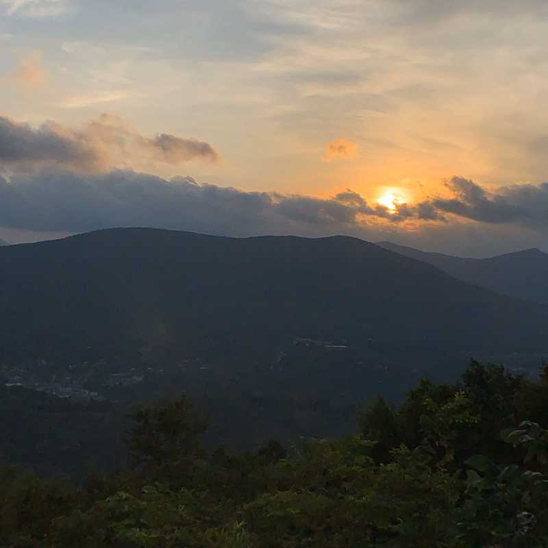 Sunset Overlook, Mount Jefferson State Natural Area