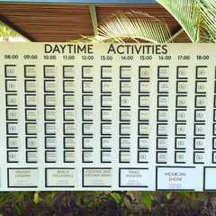 The hotel offers lots of free activities on site