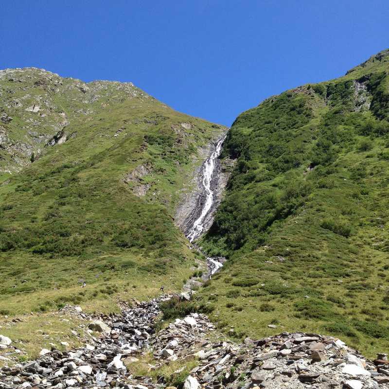 Schrammach Wasserfall