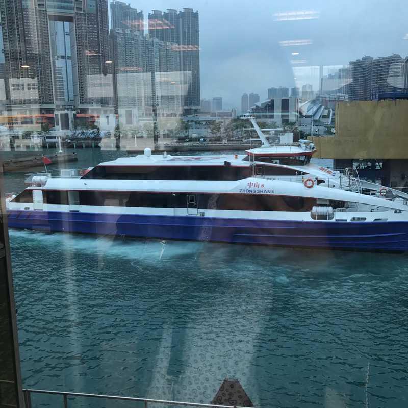 Cotai Water Jet ticket office - Hong Kong International Airport