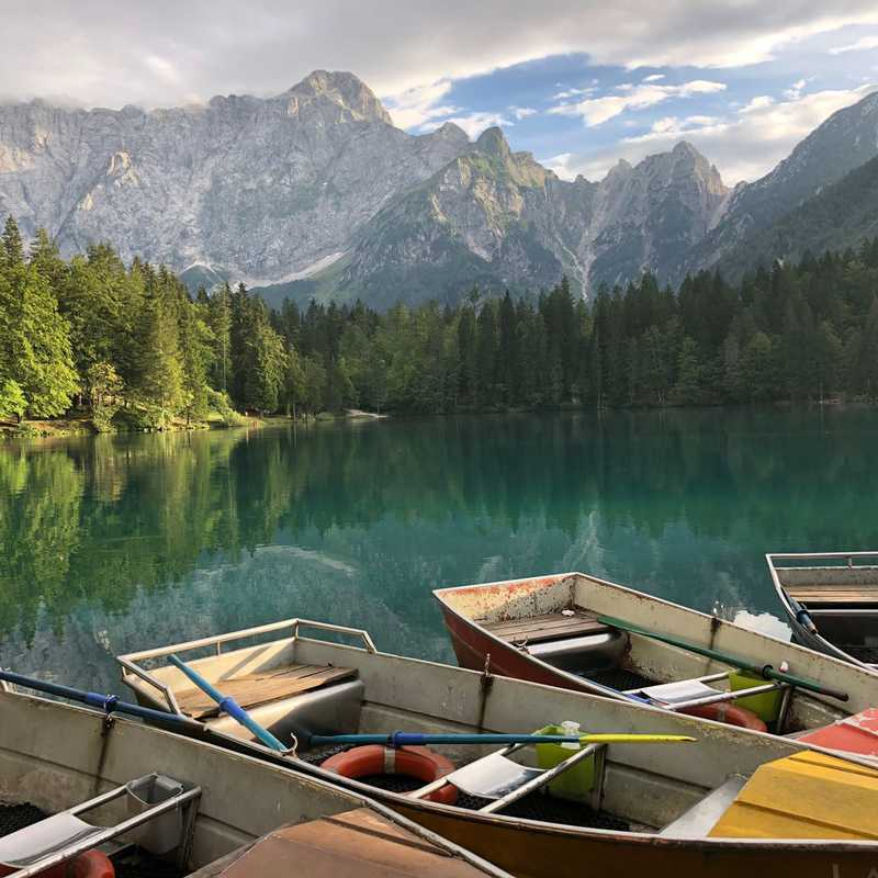 Lago di Fusine inferiore