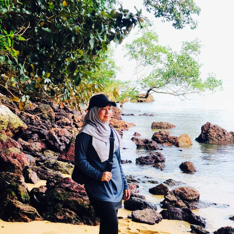 The Beach & Blue Sea
