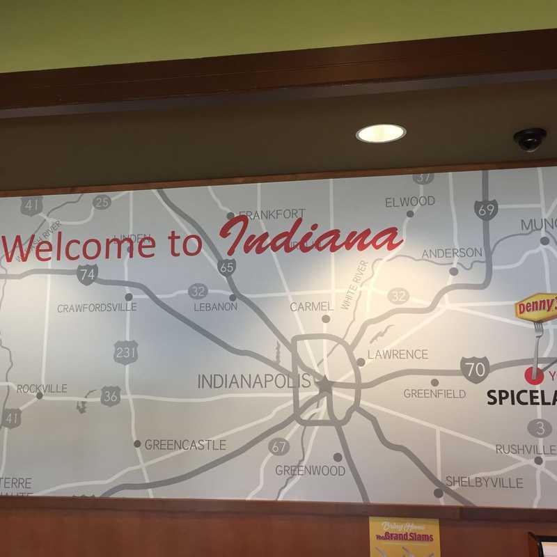 Driving thru Ohio into Indiana