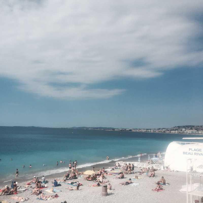 Plage Beau Rivage Beach